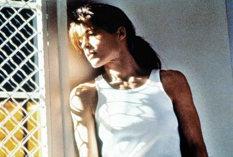 Linda Hamilton wanted Sarah Connor to be a little crazy in 'Terminator 2' (Photo: TriStar/courtesy Everett Collection)