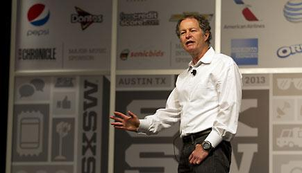 """<b class=""""credit"""">AP Photo/Austin American-Statesman, Deborah Cannon</b>John Mackey, co-CEO of Whole Foods, speaks during a session titled """"Conscious Capitalism: Liberating the Heroic Spirit of Business"""" at the SXSW Interactive Festival in Austin on Sunday, March 10, 2013."""