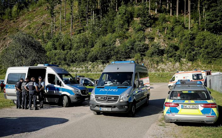 German police are searching for a man armed with knives and pistols in a forest area north of Oppenau near Offenburg - FRIEDEMANN VOGEL/EPA-EFE/Shutterstock/ Shutterstock