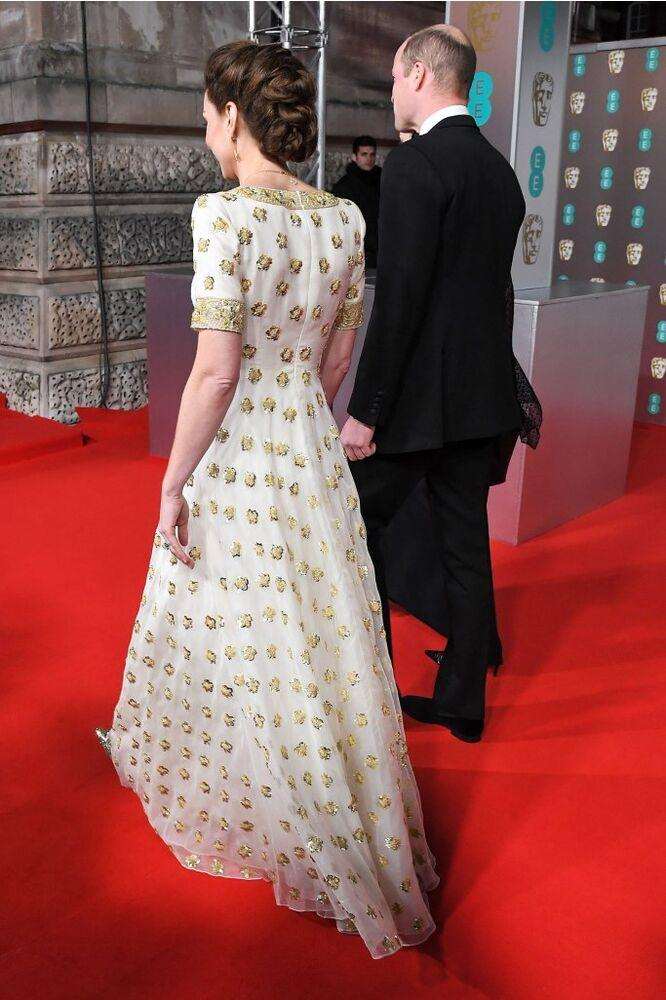 Kate Middleton and Prince William | Anthony Harvey/BAFTA/Shutterstock