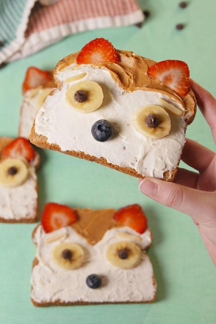 """<p>What did the Fox Toast say?</p><p>Get the recipe from <a href=""""https://www.delish.com/cooking/recipe-ideas/recipes/a55280/fox-toast-recipe/"""" rel=""""nofollow noopener"""" target=""""_blank"""" data-ylk=""""slk:Delish"""" class=""""link rapid-noclick-resp"""">Delish</a>.</p>"""