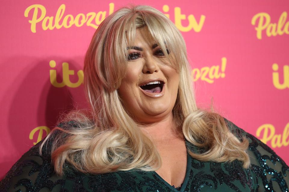 LONDON, ENGLAND - NOVEMBER 12: Gemma Collins attends the ITV Palooza 2019 at The Royal Festival Hall on November 12, 2019 in London, England. (Photo by Lia Toby/Getty Images)
