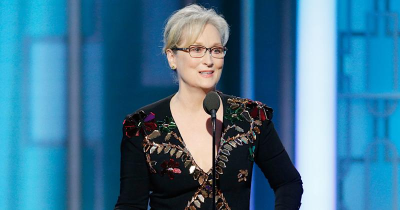 Watch Meryl Streep's incredibly powerful Golden Globes speech here