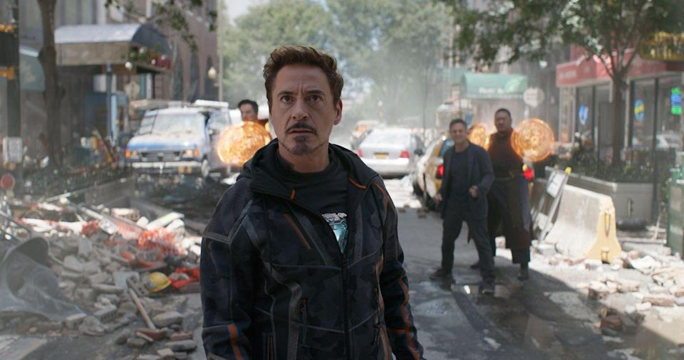 <p><strong>Last sighted:</strong> Titan<br>There weren't many people left on Thanos' graveyard-like home planet of Titan after the Infinity Snap, but luckily for Marvel's continued box-office draw, Robert Downey Jr's Tony Stark was one of them (for now).</p>