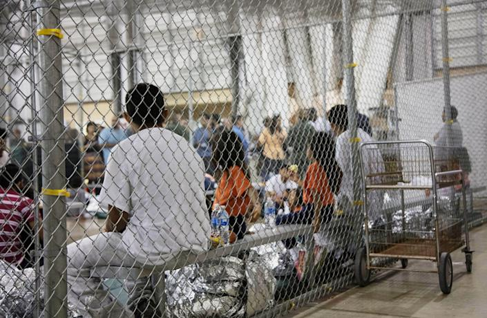 Immigrant children described hunger, cold and fear in a voluminous court filing about the U.S. detention facilities where they were held after crossing the border. (Photo: U.S. Customs and Border Protection's Rio Grande Valley Sector via AP)