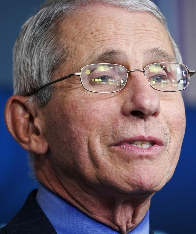 Director of the National Institute of Allergy and Infectious Diseases Anthony Fauci has pushed President Donald Trump to be cautious (AFP Photo/MANDEL NGAN)