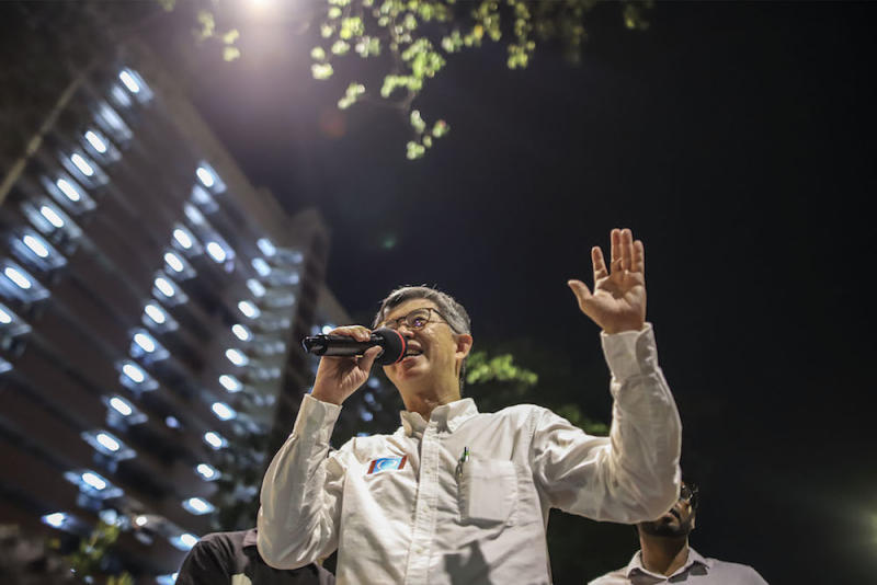 Tian Chua said he joined the Reformasi movement exactly 20 years ago yesterday, around the same time as Azmin. — Picture by Azneal Ishak