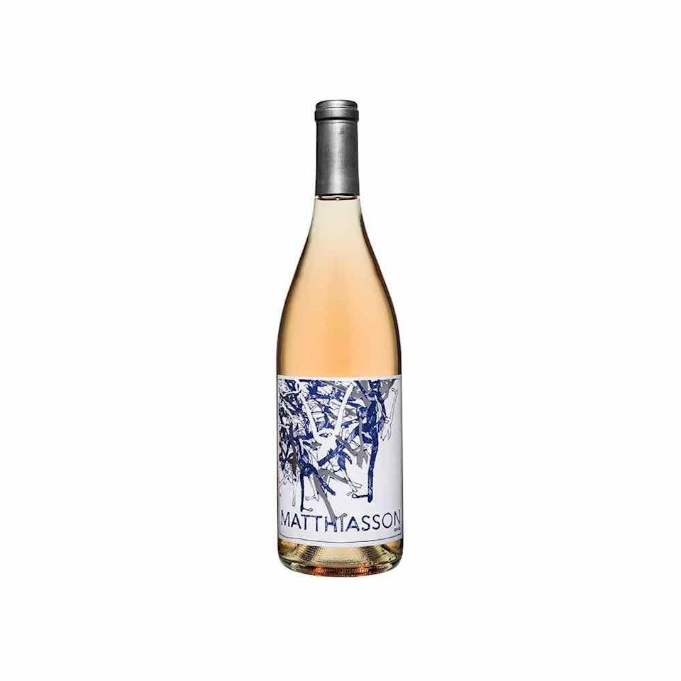 """<p>Made from a blend of four grapes—syrah, grenache, mourvedre, and counoise grapes—this wine is dry, fresh, and bright, says Andy Wedge, a wine director at <a href=""""http://www.northblockyountville.com/"""" rel=""""nofollow noopener"""" target=""""_blank"""" data-ylk=""""slk:North Block"""" class=""""link rapid-noclick-resp"""">North Block</a>. """"I love it as a pairing with lighter picnic fare, or just to sip throughout the summer."""" </p><p><em>Price: $26</em></p><p><a class=""""link rapid-noclick-resp"""" href=""""https://www.matthiasson.com/detail/prod_6005f3bb81ac4200070f03a3/"""" rel=""""nofollow noopener"""" target=""""_blank"""" data-ylk=""""slk:SHOP NOW"""">SHOP NOW</a></p>"""