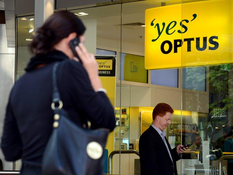 Optus revenue and staff numbers down