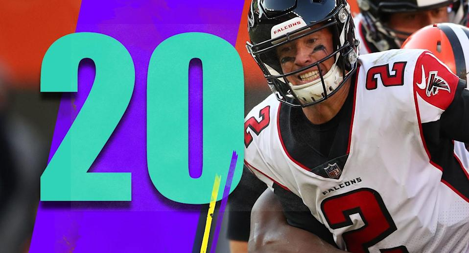 <p>The Falcons will still be a tough out the rest of the way, but the postseason dreams need to be put on hold until further notice. (Matt Ryan) </p>