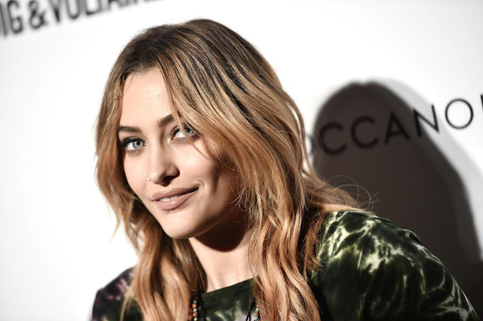 Paris Jackson at the Daily Front Row's Fashion Media Awards in NYC on Sept. 6. (Photo: Steven Ferdman/Getty Images for the Daily Front Row)