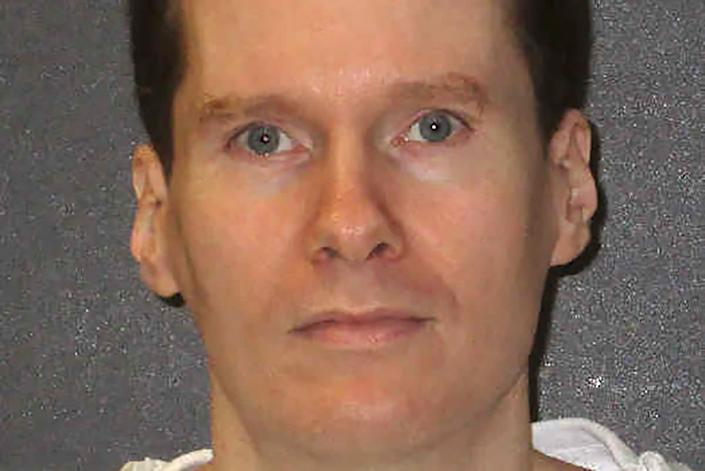 Texas inmate Billy Joe Wardlow, who was executed on 8 July 2020: via REUTERS