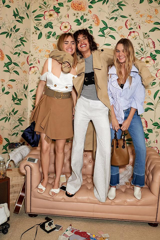 "<p><a rel=""nofollow"" href=""https://www.shopbop.com/"">Shopbop</a> Spring 2017 Campaign Tailor Made Looks (Photo: Courtesy of Shopbop) </p>"