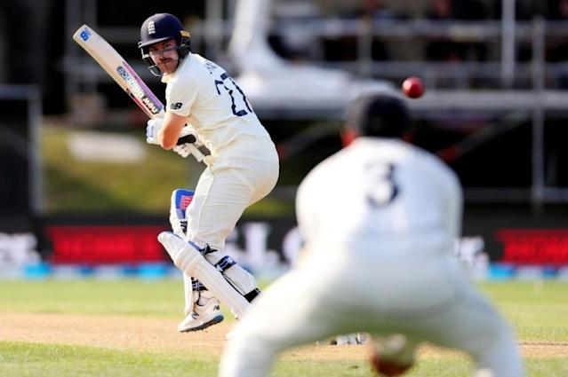 England's Rory Burns was dropped twice to be not out 24 at stumps on day two (AFP Photo/DAVID GRAY)