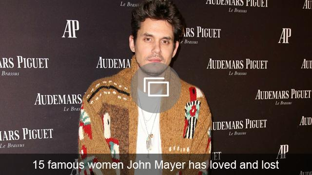 15 famous women John Mayer has loved and lost