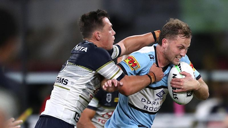 Matt Moylan was among Cronulla players who initially failed a COVID-19 temperature check