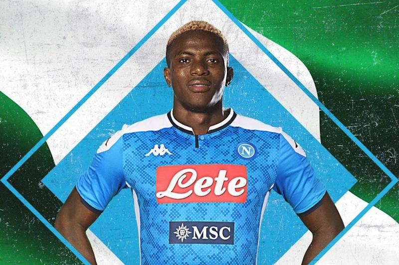 Nigeria Striker Victor Osimhen Transfers from Lille to Napoli for Reported 50 Million Euros