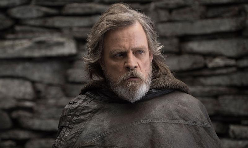 In <i>The Last Jedi</i> we find Luke in enforced isolation (Disney)