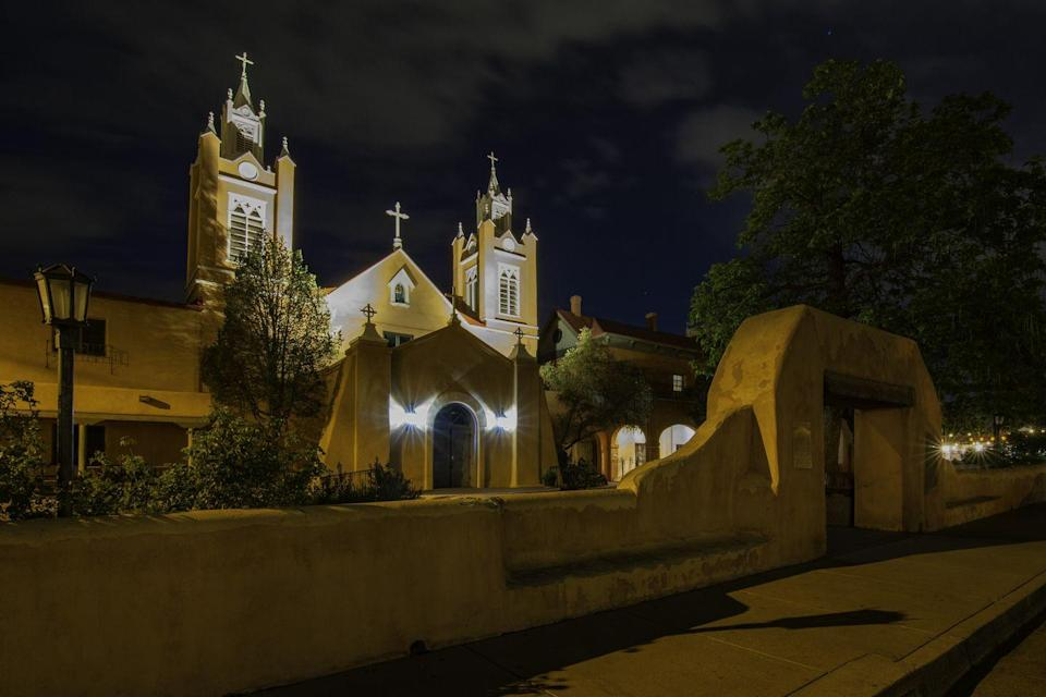 """<p>Discover the spooky side of Old Town Albuquerque on a 110-minute tour, during which you'll hear ghost stories told by lantern light as you check out Old Town's scariest cemeteries and historic buildings. </p><p><a class=""""link rapid-noclick-resp"""" href=""""https://go.redirectingat.com?id=74968X1596630&url=https%3A%2F%2Fwww.tripadvisor.com%2FAttractionProductReview-g60933-d16642863-The_Ghost_Tour_of_Old_Town_New_Mexico_s_oldest_Ghost_Walk_Since_2001-Albuquerque_Ne.html&sref=https%3A%2F%2Fwww.redbookmag.com%2Flife%2Fg37623207%2Fghost-tours-near-me%2F"""" rel=""""nofollow noopener"""" target=""""_blank"""" data-ylk=""""slk:LEARN MORE"""">LEARN MORE</a></p>"""