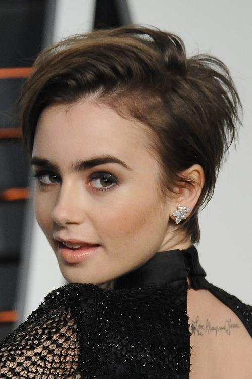 Lily Collins Faith Hill Rita Ora Think Pixie Cuts Are Freeing