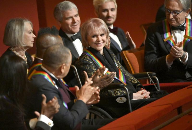 Ronstadt at the Kennedy Center Honors in Washington D.C., Dec. 8 2019. | John Paul Filo/CBS via Getty Images