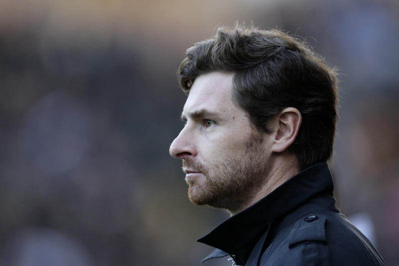 Chelsea's manager Andre Villas Boas takes to the touchline before his team's English Premier League soccer match against Wolverhampton Wanderers at Molineux Stadium, Wolverhampton, England, in this file photo dated Monday Jan. 2, 2012.  Andre Villas-Boas was fired Sunday March 4, 2012, by Chelsea after barely eight months in charge of the Premier League club on Sunday, leaving owner Roman Abramovich searching for his eighth manager in nine years. (AP Photo/Jon Super, file)
