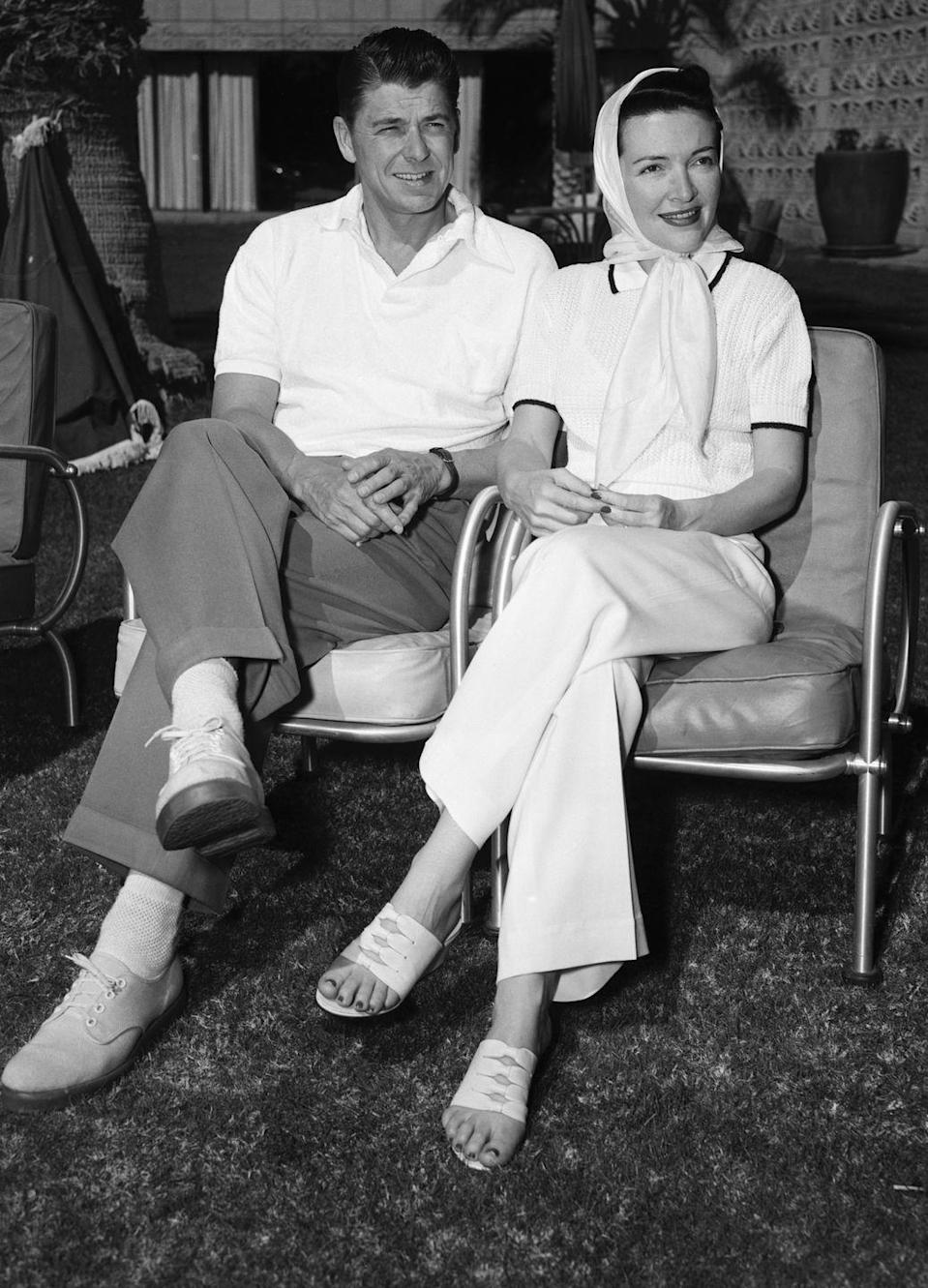<p>The couple spent their honeymoon at the Arizona Biltmore Hotel in Phoenix. Nancy was secretly pregnant with their first child, Patricia Ann Reagan (later known as Patti Davis) at the time. </p>