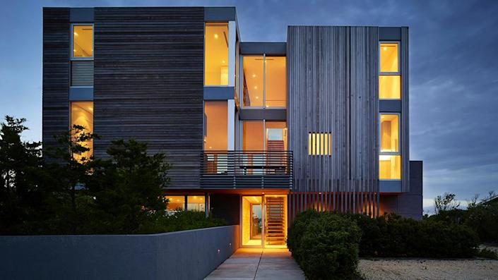 The contemporary home was built in 2013. - Credit: Photo: Courtesy of Fred Stelle