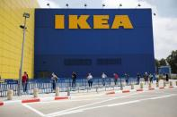 IKEA opens some of its stores in Israel after coronavirus disease (COVID-19) lockdown eased