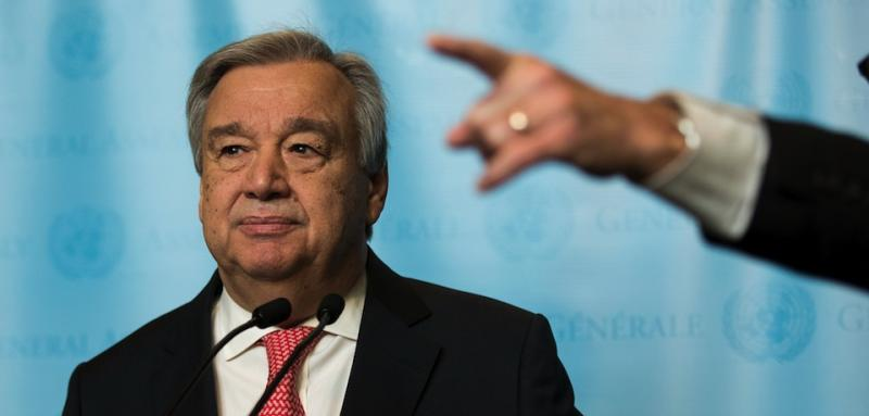 But António Guterres avoids full-fledged independent inquiry into brutal March murder of U.S. and Swedish researchers.