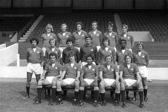 Bobby Fisher (middle row, far left), Laurie Cunningham (middle row, one in from right) and Ricky Heppolette (bottom row, centre) were a key part of George Petchey's Leyton Orient team
