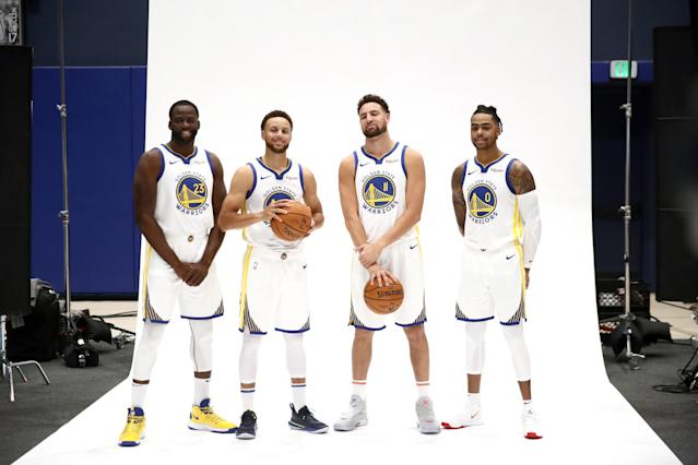 With a new Warriors team ready for the 2019-20 season, Steph Curry isn't changing his mindset one bit. (Ezra Shaw/Getty Images)
