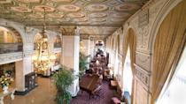 """<p>Louisville's premiere hotel wows with grand guest rooms and an opulent lobby. Since the death of original owner John Graham Brown, employees have reported unusual occurrences including elevators mysteriously stopping on the 15<sup>th</sup> floor, where Brown and his dog once resided. <br></p><p><a class=""""link rapid-noclick-resp"""" href=""""https://go.redirectingat.com?id=74968X1596630&url=https%3A%2F%2Fwww.tripadvisor.com%2FHotel_Review-g39604-d88855-Reviews-The_Brown_Hotel-Louisville_Kentucky.html&sref=https%3A%2F%2Fwww.countryliving.com%2Flife%2Ftravel%2Fg2689%2Fmost-haunted-hotels-in-america%2F"""" rel=""""nofollow noopener"""" target=""""_blank"""" data-ylk=""""slk:PLAN YOUR TRIP"""">PLAN YOUR TRIP</a></p>"""