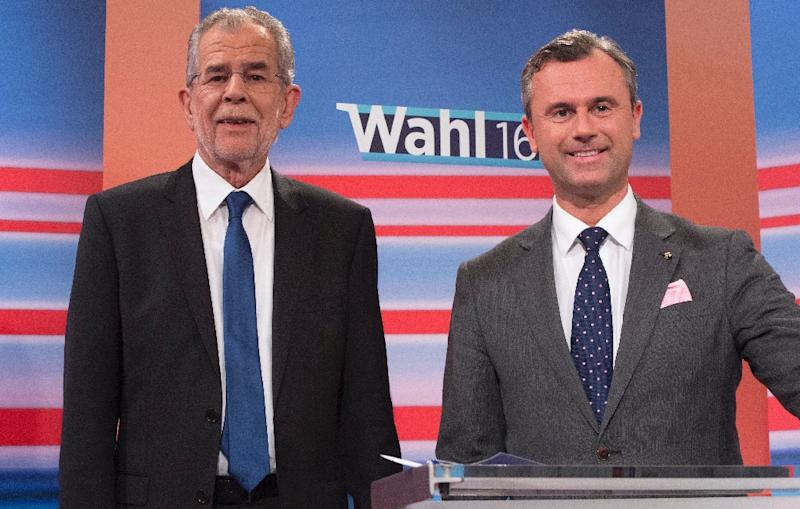 Austrian far-right narrowly loses presidential election