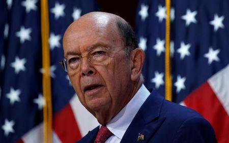 Wilbur Ross speaks at the SelectUSA Investment Summit in Fort Washington, National Harbor, Maryland