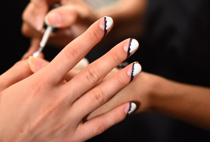 All the backstage nail art we're loving at New York Fashion Week