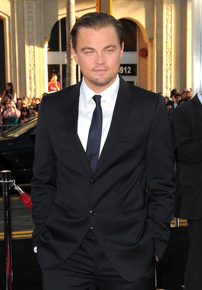 "Actor Leonardo DiCaprio (""Inception,"" ""Shutter Island"") Jordan Strauss/<a href=""http://www.wireimage.com"" target=""new"">WireImage.com</a> - July 13, 2010"