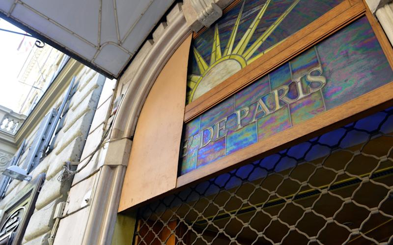 The famous Cafe de Paris has been closed for years, ever since it was discovered it was being used by the 'Ndrangheta mafia to launder money - Credit: Chris Warde-Jones