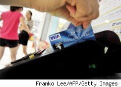 Using a credit card for purchases