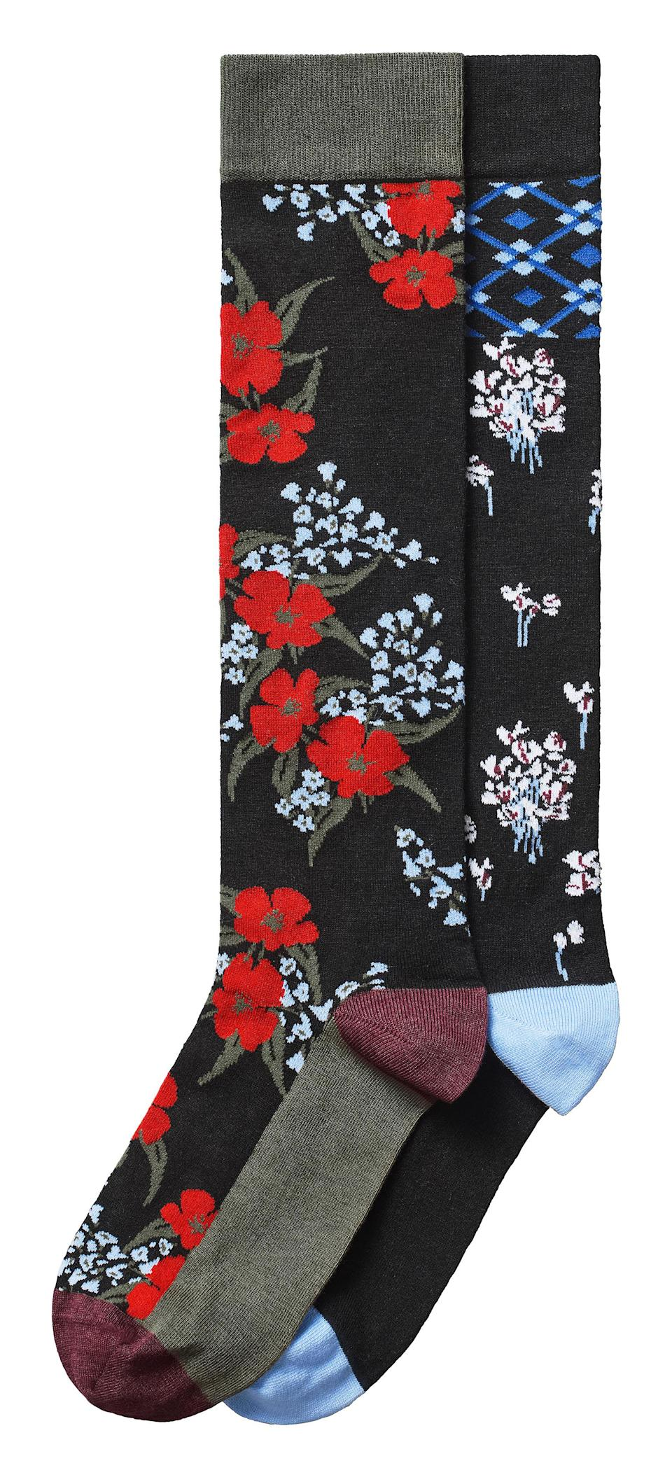 """<p>Yes, socks may not be the most fascinating item when it comes to our wardrobes but we think we may have just found a way to look forward to the colder months ahead… <em><a rel=""""nofollow noopener"""" href=""""http://www2.hm.com/en_gb/index.html"""" target=""""_blank"""" data-ylk=""""slk:H&M"""" class=""""link rapid-noclick-resp"""">H&M</a>, £69.99</em> </p>"""