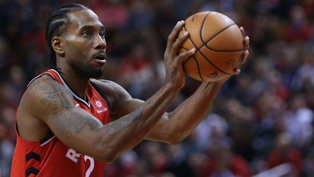 """Kawhi Leonard appreciated the love from Toronto Raptors fans but felt the """"MVP"""" chants came a little too early."""
