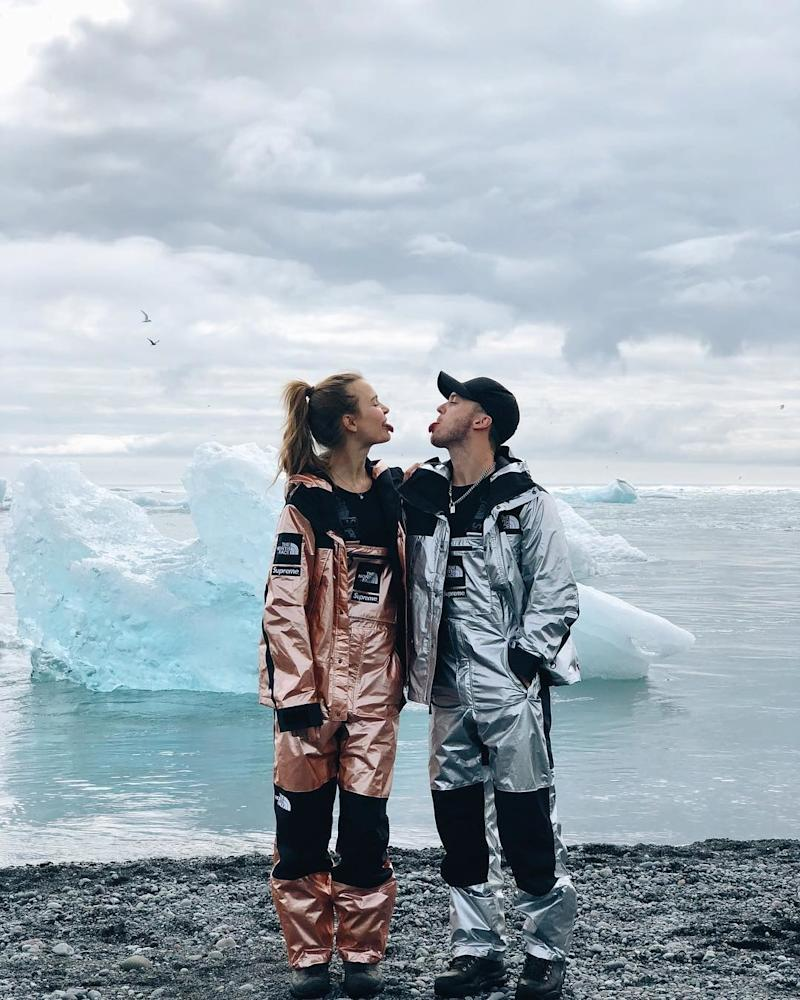 Victoria's Secret model Josephine Skriver and the musician Alex DeLeon became engaged on November 23rd, 2018.