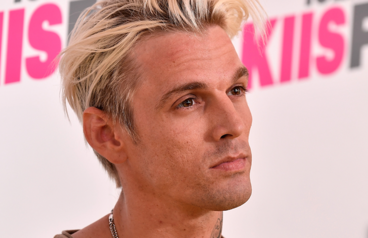 Aaron Carter has slammed his brother who sent him words of support (Getty)