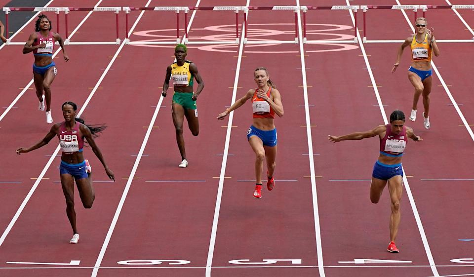 Tokyo Olympics Athletics (Copyright 2021 The Associated Press. All rights reserved)