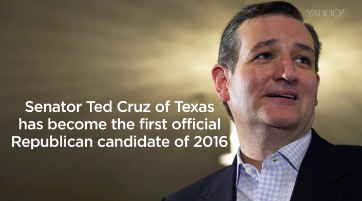 Cruz targets conservatives as he starts White House run