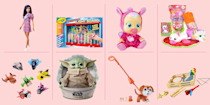 "<p><a href=""https://www.goodhousekeeping.com/holidays/gift-ideas/g28800511/amazon-holiday-toys-2019/"" rel=""nofollow noopener"" target=""_blank"" data-ylk=""slk:Amazon's top holiday toys list"" class=""link rapid-noclick-resp"">Amazon's top holiday toys list</a> has finally been released! For 2020, Amazon has done something a little different and launched <a href=""https://www.amazon.com/gcx/Toys-we-love/gfhz/events/?categoryId=toys-we-love&tag=syn-yahoo-20&ascsubtag=%5Bartid%7C10055.g.33609399%5Bsrc%7Cyahoo-us"" rel=""nofollow noopener"" target=""_blank"" data-ylk=""slk:a new list called Toys We Love"" class=""link rapid-noclick-resp"">a new list called Toys We Love</a>, but the concept is the same as years past: you'll find over 100 toys for all ages that the site predicts will be flying off the shelves come December. <br></p><p>This year's selection includes a ton of great toys and gadgets from kid-favorites like <a href=""https://www.goodhousekeeping.com/childrens-products/toy-reviews/a27665259/recycle-lol-dolls-packaging/"" rel=""nofollow noopener"" target=""_blank"" data-ylk=""slk:L.O.L. Surprise!"" class=""link rapid-noclick-resp"">L.O.L. Surprise!</a>, <a href=""https://www.goodhousekeeping.com/home/organizing/g26010638/lego-storage-ideas/"" rel=""nofollow noopener"" target=""_blank"" data-ylk=""slk:LEGOs"" class=""link rapid-noclick-resp"">LEGOs</a>, Barbie, and every other toy brand under the sun. To help you find <a href=""https://www.goodhousekeeping.com/childrens-products/toy-reviews/g31132135/best-new-toys-2020/"" rel=""nofollow noopener"" target=""_blank"" data-ylk=""slk:the very best toys for this holiday season"" class=""link rapid-noclick-resp"">the very best toys for this holiday season</a>, we've rounded up over 20 must-see items <em>— </em><strong>all of which are under $30</strong>. Take a look, but act fast if you see something you want to grab, we have a feeling a lot of these best-selling dolls, games, puzzles, and stuffed animals will sellout fast.</p><p>Want more <a href=""https://www.goodhousekeeping.com/childrens-products/toy-reviews/g4695/best-kids-toys/"" rel=""nofollow noopener"" target=""_blank"" data-ylk=""slk:great toy recommendations"" class=""link rapid-noclick-resp"">great toy recommendations</a>? We have expert- and kid- approved picks for every child on your list: <a href=""https://www.goodhousekeeping.com/childrens-products/toy-reviews/g5150/best-toys-for-two-year-olds/"" rel=""nofollow noopener"" target=""_blank"" data-ylk=""slk:2-year-olds"" class=""link rapid-noclick-resp"">2-year-olds</a>, <a href=""http://www.goodhousekeeping.com/childrens-products/toy-reviews/g29309622/best-toys-gifts-for-3-year-old-boys/"" rel=""nofollow noopener"" target=""_blank"" data-ylk=""slk:3-year-old boys"" class=""link rapid-noclick-resp"">3-year-old boys</a>, <a href=""https://www.goodhousekeeping.com/childrens-products/toy-reviews/g29148347/best-toys-gifts-for-3-year-old-girls/"" rel=""nofollow noopener"" target=""_blank"" data-ylk=""slk:3-year-old girls"" class=""link rapid-noclick-resp"">3-year-old girls</a>, <a href=""http://www.goodhousekeeping.com/childrens-products/toy-reviews/g29355921/best-toys-gifts-for-4-year-old-boys/"" rel=""nofollow noopener"" target=""_blank"" data-ylk=""slk:4-year-old boys"" class=""link rapid-noclick-resp"">4-year-old boys</a>, <a href=""http://www.goodhousekeeping.com/childrens-products/toy-reviews/g29352000/best-toys-gifts-for-4-year-old-girls/"" rel=""nofollow noopener"" target=""_blank"" data-ylk=""slk:4-year-old girls"" class=""link rapid-noclick-resp"">4-year-old girls</a>, <a href=""https://www.goodhousekeeping.com/childrens-products/toy-reviews/g26859132/best-gifts-for-5-year-old-boys/"" rel=""nofollow noopener"" target=""_blank"" data-ylk=""slk:5-year-old boys"" class=""link rapid-noclick-resp"">5-year-old boys</a>, <a href=""https://www.goodhousekeeping.com/childrens-products/toy-reviews/g28133058/best-gifts-for-5-year-old-girls/"" rel=""nofollow noopener"" target=""_blank"" data-ylk=""slk:5-year-old girls"" class=""link rapid-noclick-resp"">5-year-old girls</a>, <a href=""http://www.goodhousekeeping.com/childrens-products/toy-reviews/g29385769/best-toys-gifts-for-6-year-old-boys/"" rel=""nofollow noopener"" target=""_blank"" data-ylk=""slk:6-year-old boys"" class=""link rapid-noclick-resp"">6-year-old boys</a>, <a href=""http://www.goodhousekeeping.com/childrens-products/toy-reviews/g29386021/best-toys-gifts-for-6-year-old-girls/"" rel=""nofollow noopener"" target=""_blank"" data-ylk=""slk:6-year-old girls"" class=""link rapid-noclick-resp"">6-year-old girls</a>, <a href=""http://www.goodhousekeeping.com/childrens-products/toy-reviews/g29413969/best-toys-gifts-for-7-year-old-boys/"" rel=""nofollow noopener"" target=""_blank"" data-ylk=""slk:7-year-old boys"" class=""link rapid-noclick-resp"">7-year-old boys</a>, <a href=""http://www.goodhousekeeping.com/childrens-products/toy-reviews/g29389667/best-toys-gifts-for-7-year-old-girls/"" rel=""nofollow noopener"" target=""_blank"" data-ylk=""slk:7-year-old girls"" class=""link rapid-noclick-resp"">7-year-old girls</a>, <a href=""https://www.goodhousekeeping.com/childrens-products/toy-reviews/g28243507/best-toys-gifts-for-8-year-boys/"" rel=""nofollow noopener"" target=""_blank"" data-ylk=""slk:8-year-old boys"" class=""link rapid-noclick-resp"">8-year-old boys</a>, <a href=""https://www.goodhousekeeping.com/childrens-products/toy-reviews/g28195971/best-toys-gifts-for-8-year-girls/"" rel=""nofollow noopener"" target=""_blank"" data-ylk=""slk:8-year-old girls"" class=""link rapid-noclick-resp"">8-year-old girls</a>, <a href=""http://www.goodhousekeeping.com/childrens-products/toy-reviews/g29419638/best-toys-gifts-for-9-year-old-boys/"" rel=""nofollow noopener"" target=""_blank"" data-ylk=""slk:9-year-old boys"" class=""link rapid-noclick-resp"">9-year-old boys</a>, <a href=""http://www.goodhousekeeping.com/childrens-products/toy-reviews/g29417608/best-toys-gifts-for-9-year-old-girls/"" rel=""nofollow noopener"" target=""_blank"" data-ylk=""slk:9-year-old girls"" class=""link rapid-noclick-resp"">9-year-old girls</a>, <a href=""http://www.goodhousekeeping.com/childrens-products/toy-reviews/g29513983/best-toys-gifts-for-10-year-old-boys/"" rel=""nofollow noopener"" target=""_blank"" data-ylk=""slk:10-year-old boys"" class=""link rapid-noclick-resp"">10-year-old boys</a>, <a href=""https://www.goodhousekeeping.com/childrens-products/toy-reviews/g29553257/best-toys-gifts-for-10-year-old-girls/"" rel=""nofollow noopener"" target=""_blank"" data-ylk=""slk:10-year-old girls"" class=""link rapid-noclick-resp"">10-year-old girls</a>, <a href=""http://www.goodhousekeeping.com/childrens-products/toy-reviews/g29537582/best-toys-gifts-for-11-year-old-boys/"" rel=""nofollow noopener"" target=""_blank"" data-ylk=""slk:11-year-old boys"" class=""link rapid-noclick-resp"">11-year-old boys</a>, <a href=""http://www.goodhousekeeping.com/childrens-products/toy-reviews/g29622713/best-toys-gifts-for-11-year-old-girls/"" rel=""nofollow noopener"" target=""_blank"" data-ylk=""slk:11-year-old girls"" class=""link rapid-noclick-resp"">11-year-old girls</a>, <a href=""http://www.goodhousekeeping.com/childrens-products/toy-reviews/g29551016/best-toys-gifts-for-12-year-olds/"" rel=""nofollow noopener"" target=""_blank"" data-ylk=""slk:12-year-olds"" class=""link rapid-noclick-resp"">12-year-olds</a>, <a href=""https://www.goodhousekeeping.com/childrens-products/toy-reviews/g29645332/best-toys-gifts-for-13-year-old-boys/"" rel=""nofollow noopener"" target=""_blank"" data-ylk=""slk:13-year-old boys"" class=""link rapid-noclick-resp"">13-year-old boys</a> and <a href=""http://www.goodhousekeeping.com/childrens-products/toy-reviews/g29566865/best-toys-and-gifts-for-13-year-old-girls/"" rel=""nofollow noopener"" target=""_blank"" data-ylk=""slk:13-year-old girls"" class=""link rapid-noclick-resp"">13-year-old girls</a>. Whew!</p>"