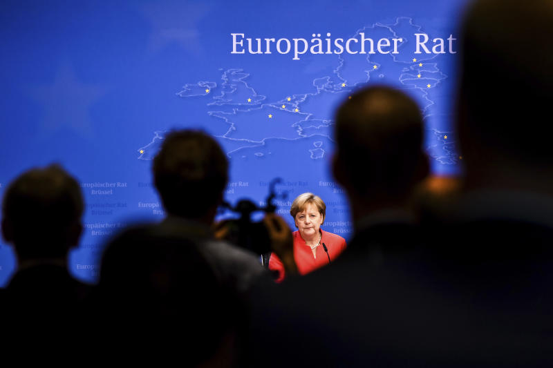 Merkel accepts radical changes to her coalition migration policy