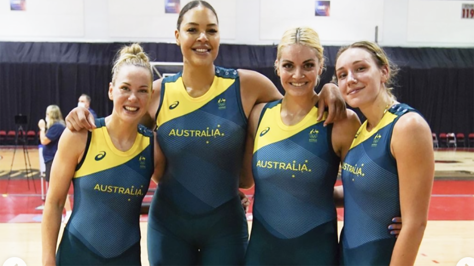 Liz Cambage announced she would not compete at the Tokyo Olympics, citing mental health concerns around entering the bio-secure 'bubble' environment. Picture: Instagram/ecambage