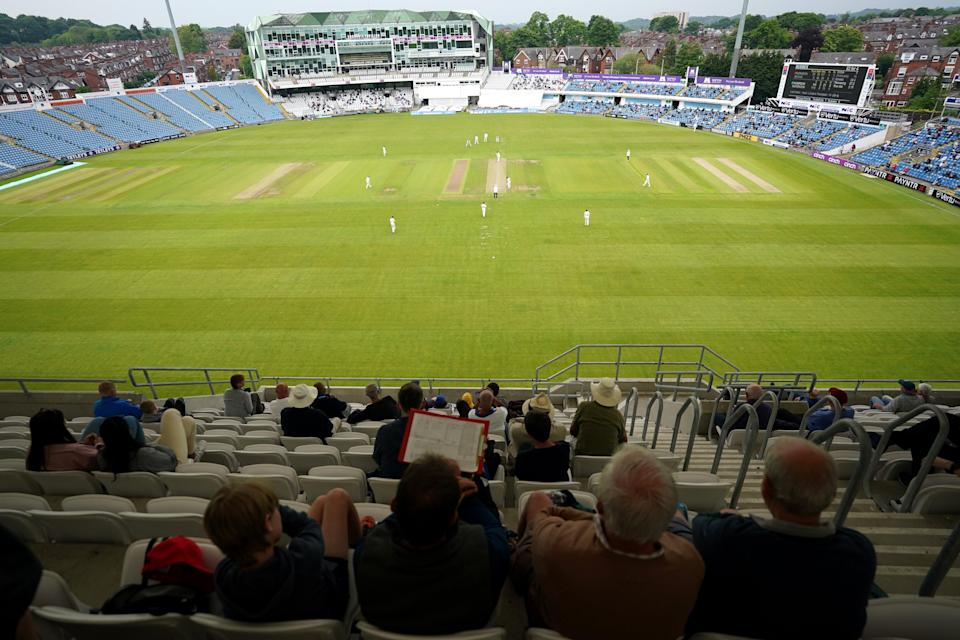 The third day of the Roses fixture was suspended after 23.2 overs (Zac Goodwin/PA) (PA Wire)