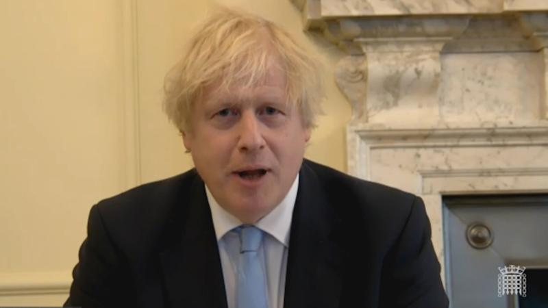 Screen grab from parliamentlive.tv of Prime Minister Boris Johnson appearing before the House of Commons Liaison Committee, via video conference, to face scrutiny from MPs where he has answered questions about lockdown rules and Dominic Cummings.